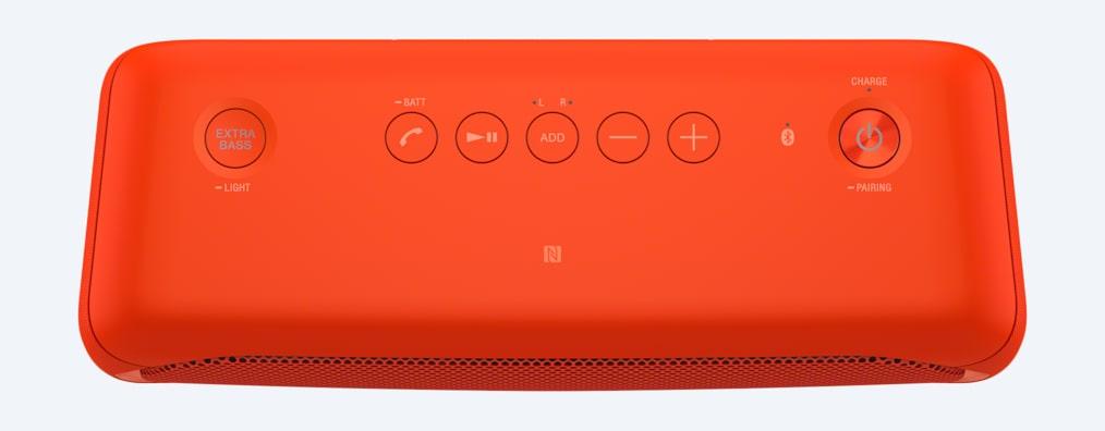 Bärbar högtalare med belysning och laddningsbart batteri  65f21456b7285