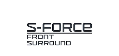 S-Force Front Surround-logotyp