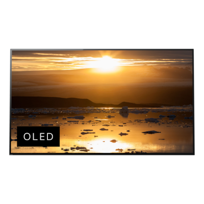 Bild på A1 4K HDR OLED-tv med Acoustic Surface™