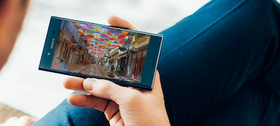 Xperia XZ Premium-display