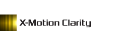 X-Motion Clarity-logotyp