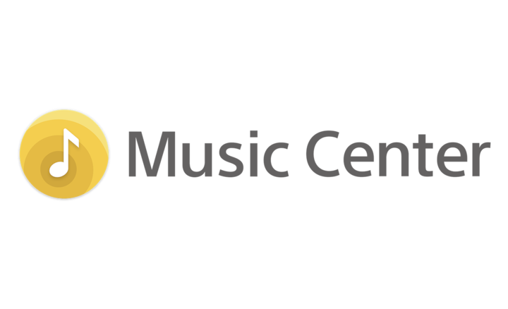 Logotyp för Sony | Music Center