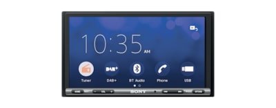 Bilder på 17,6 cm (6,95-tums) DAB-receiver med Apple CarPlay/Android Auto™