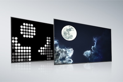 Sony Full Array LED med X-tended Dynamic Range PRO-bakpanel och skärm