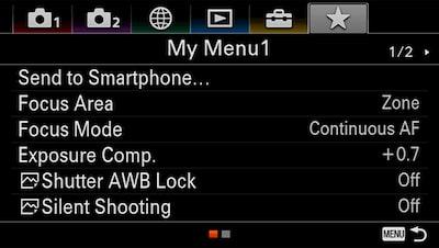 Funktionerna My Menu och My Dial ger dig kontroll
