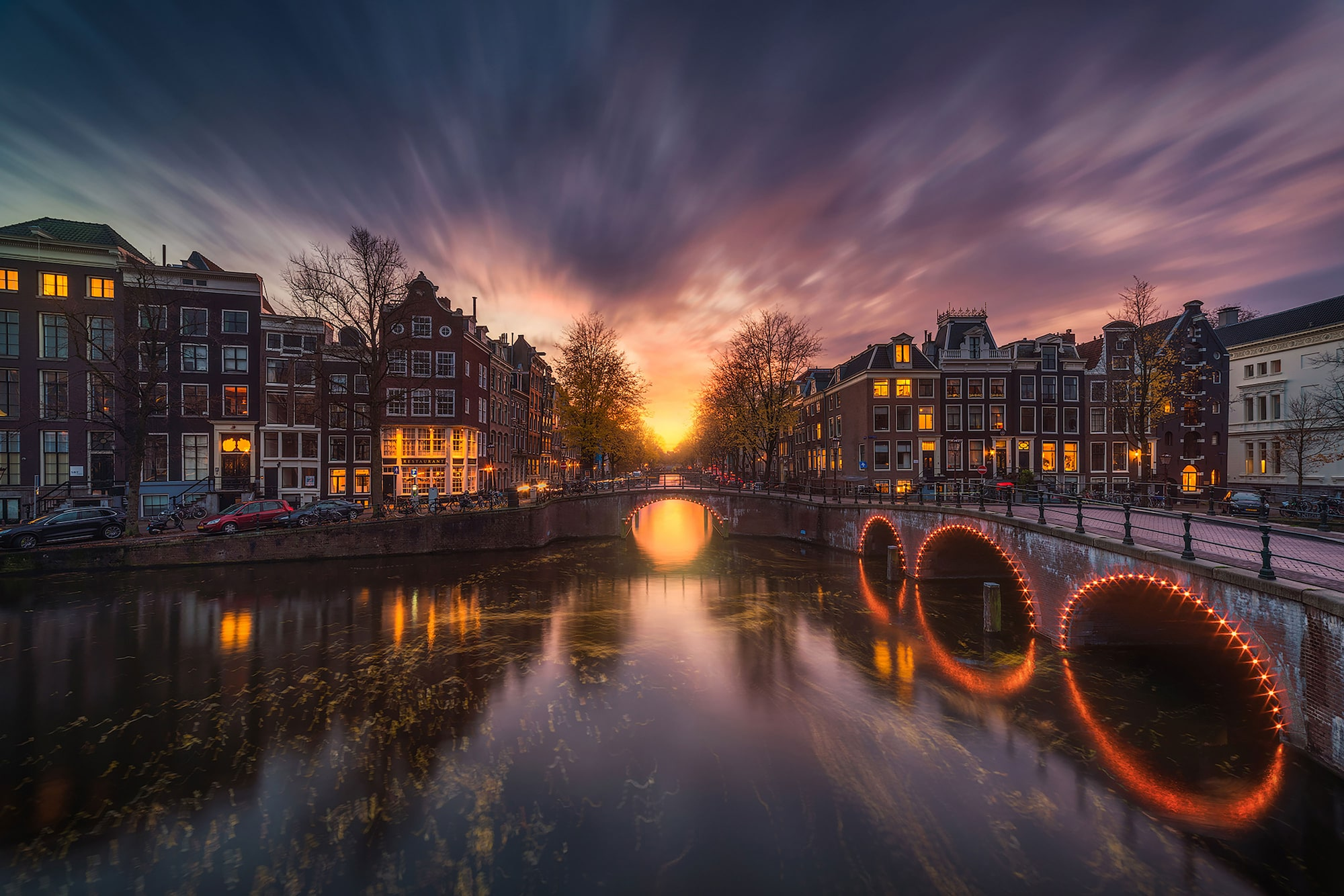 Albert-Dros-Sony-Alpha-7RII-amsterdam-canal-at-night-long-exposure