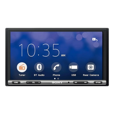 Bild på 17,6 cm (6,95-tums) DAB-receiver med Apple CarPlay/Android Auto™
