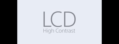 Ikon för LCD med hög kontrast