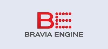 Logotyp för BRAVIA ENGINE