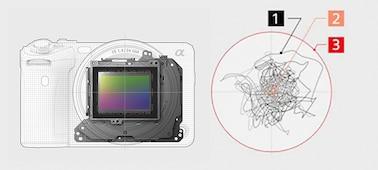 Bild på strukturen för OpticalSteadyShot